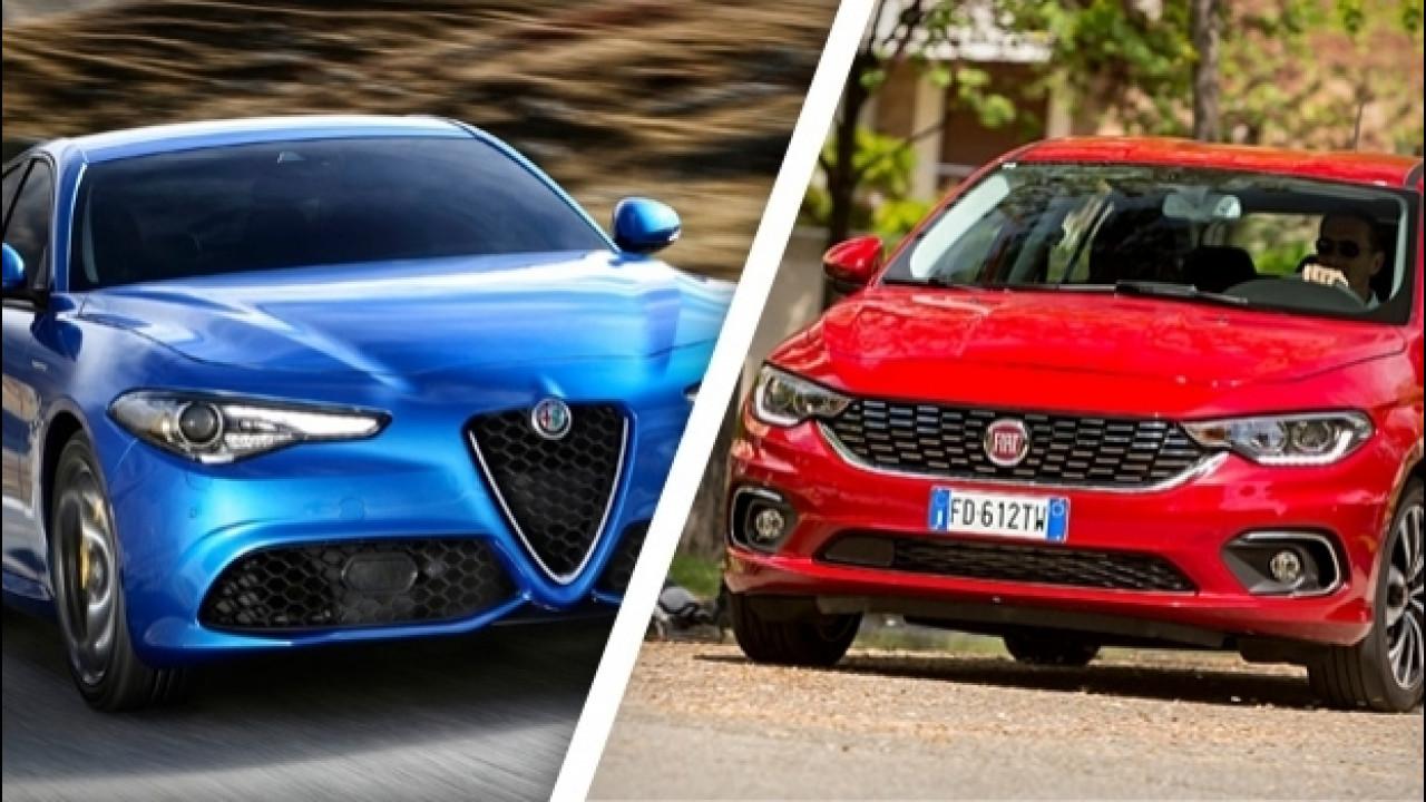 [Copertina] - Alfa Giulia e Fiat Tipo, ecco quanto vendono in Europa