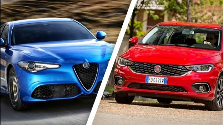 Alfa Giulia e Fiat Tipo, ecco quanto vendono in Europa