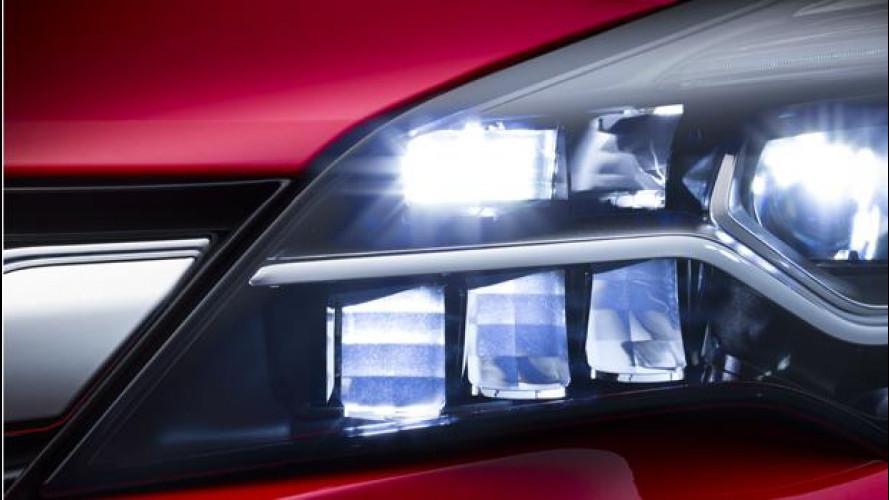 Opel, il sistema IntelliLux debutterà sulla nuova Astra