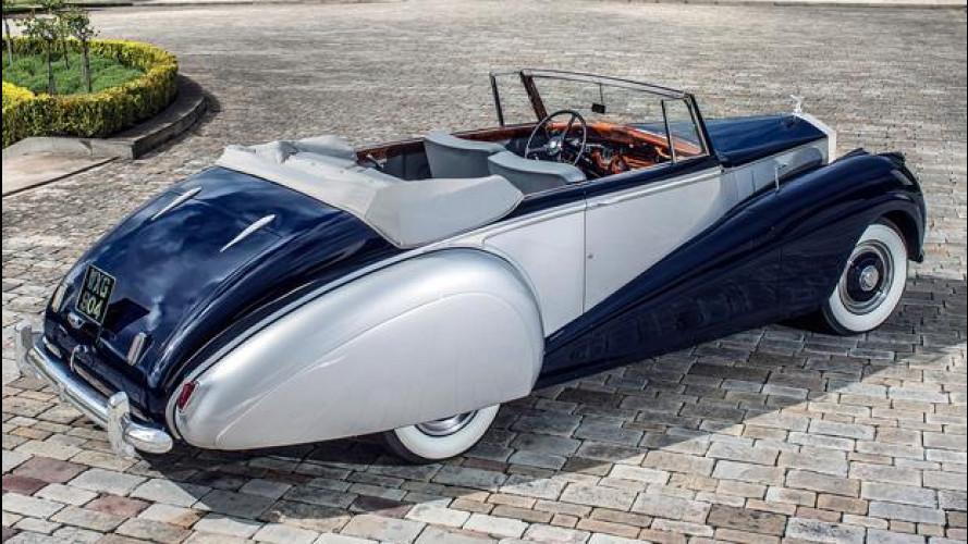 Rolls-Royce Dawn, una cabrio prima del SUV