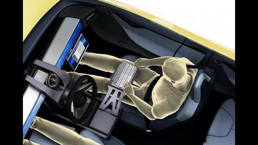 Rinspeed Xchange, l'auto del futuro è come un aereo
