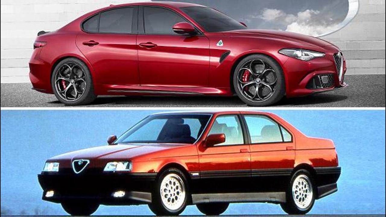 [Copertina] - Nuova Alfa Romeo Giulia: 30 anni di berline tra alti, bassi e bassissimi