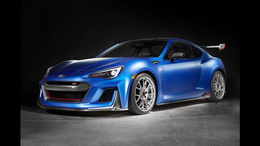 Subaru STI Performance Concept, proprio un bel sogno