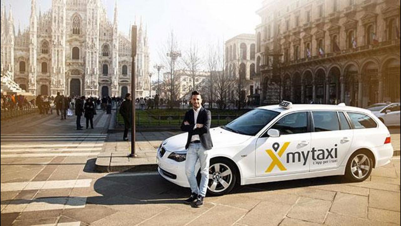 [Copertina] - mytaxi, via al servizio a Milano e i taxi costano la metà