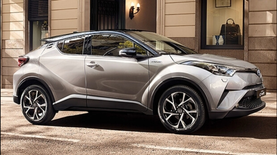 Toyota C-HR, 80.000 ordini in Europa