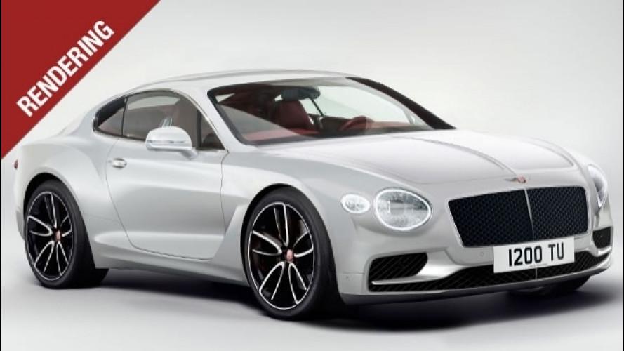Nuova Bentley Continental GT, un futuro più leggero