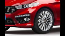 Nuova Fiat Punto, il rendering