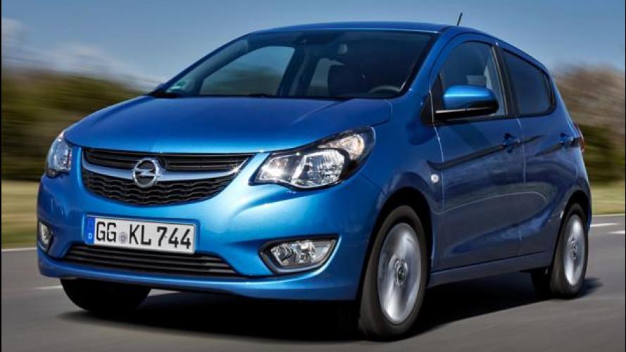 Opel Karl, la prova della citycar