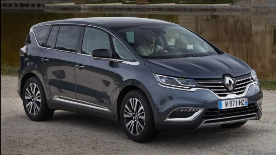 Renault Espace MY 2017, connessa e con un turbo benzina più potente
