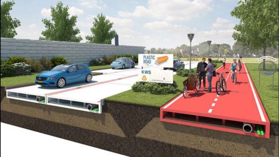 Olanda, strade in plastica invece che in asfalto