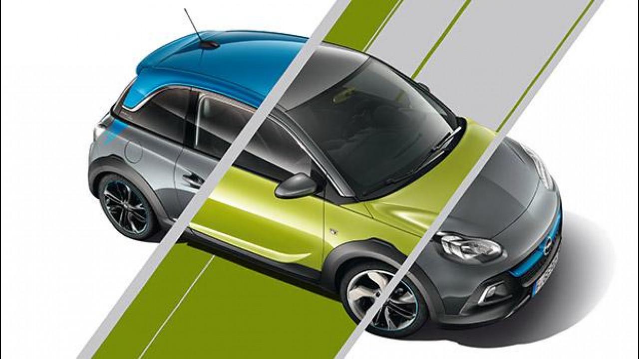 [Copertina] - Opel Adam e Adam Rocks Unlimited, personalizzazione estrema