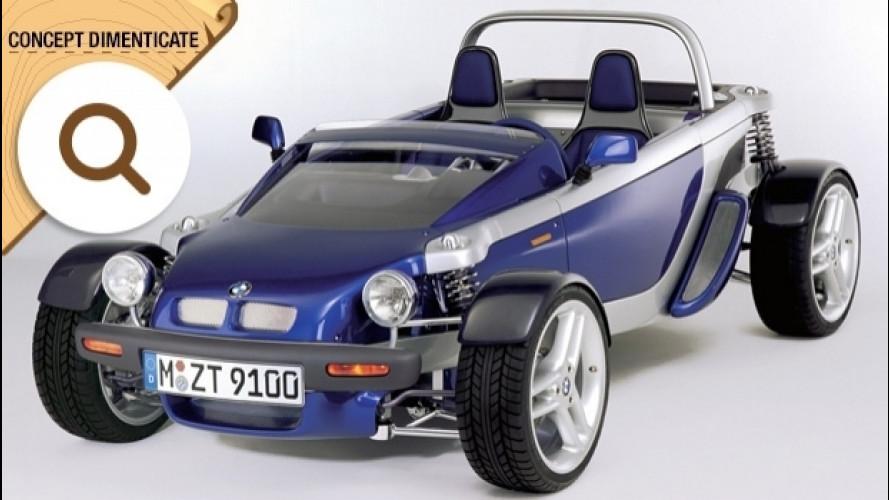 BMW Z21 concept, l'ultraleggera con il motore di una moto