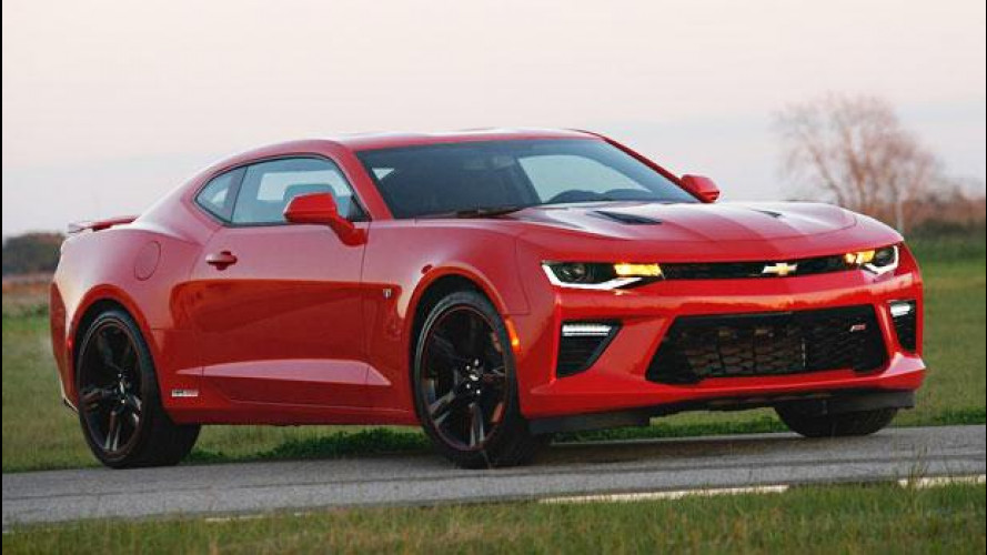 Chevrolet Camaro SS, 1.000 CV per quella di Hennessey [VIDEO]