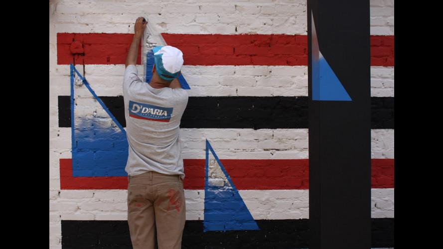 smart in Brasile sfrutta l'Urban Art