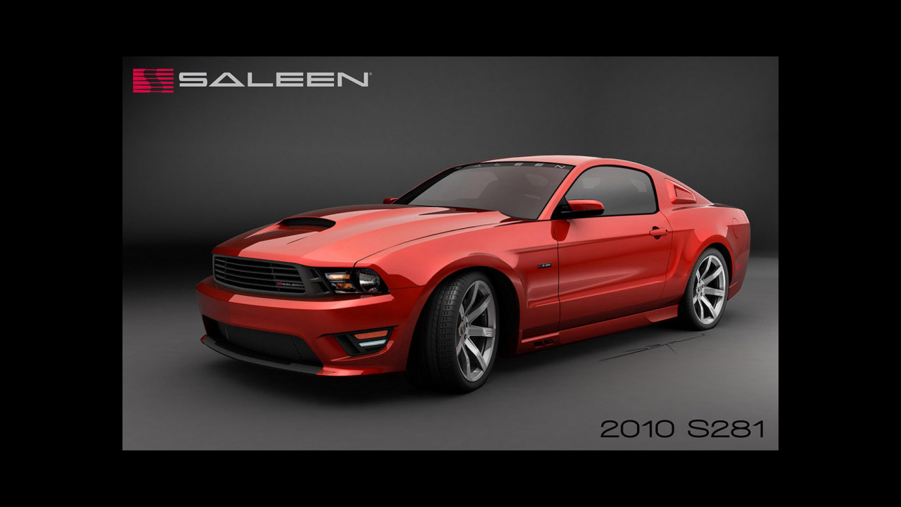 S281 Mustang by Saleen