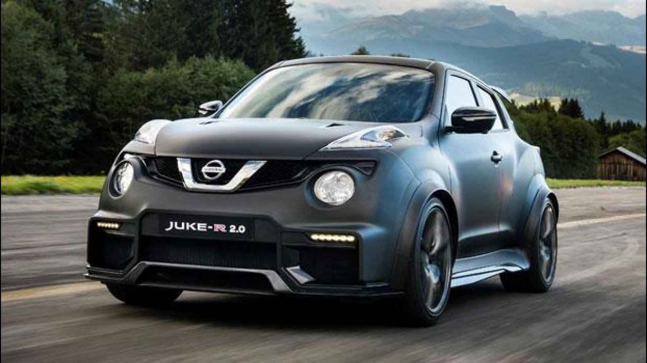 [Copertina] - Nissan Juke-R 2.0, in pista con la GT-R travestita