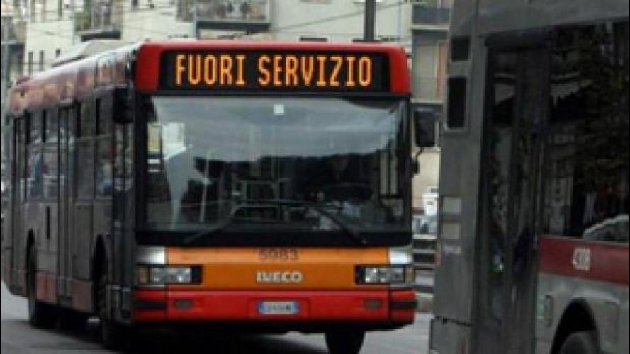 Sciopero mezzi pubblici a Roma venerdì 17 aprile, info e orari