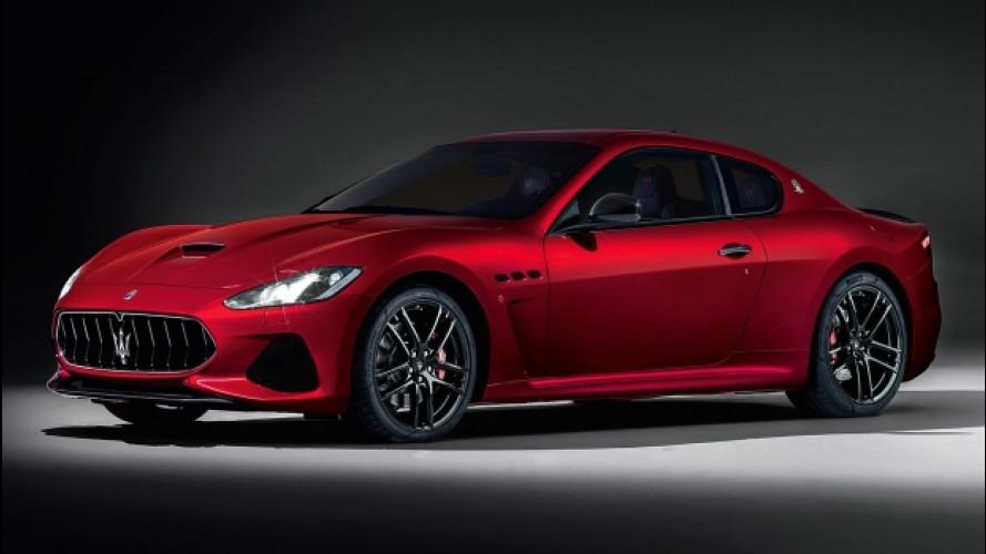 Maserati GranTurismo restyling, ora è un po' più Alfieri