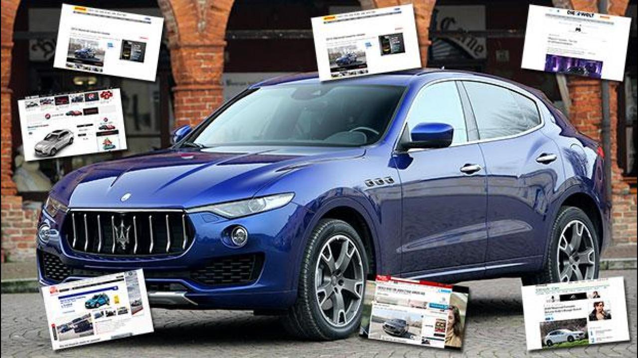 [Copertina] - Maserati Levante, all'estero piace già tanto