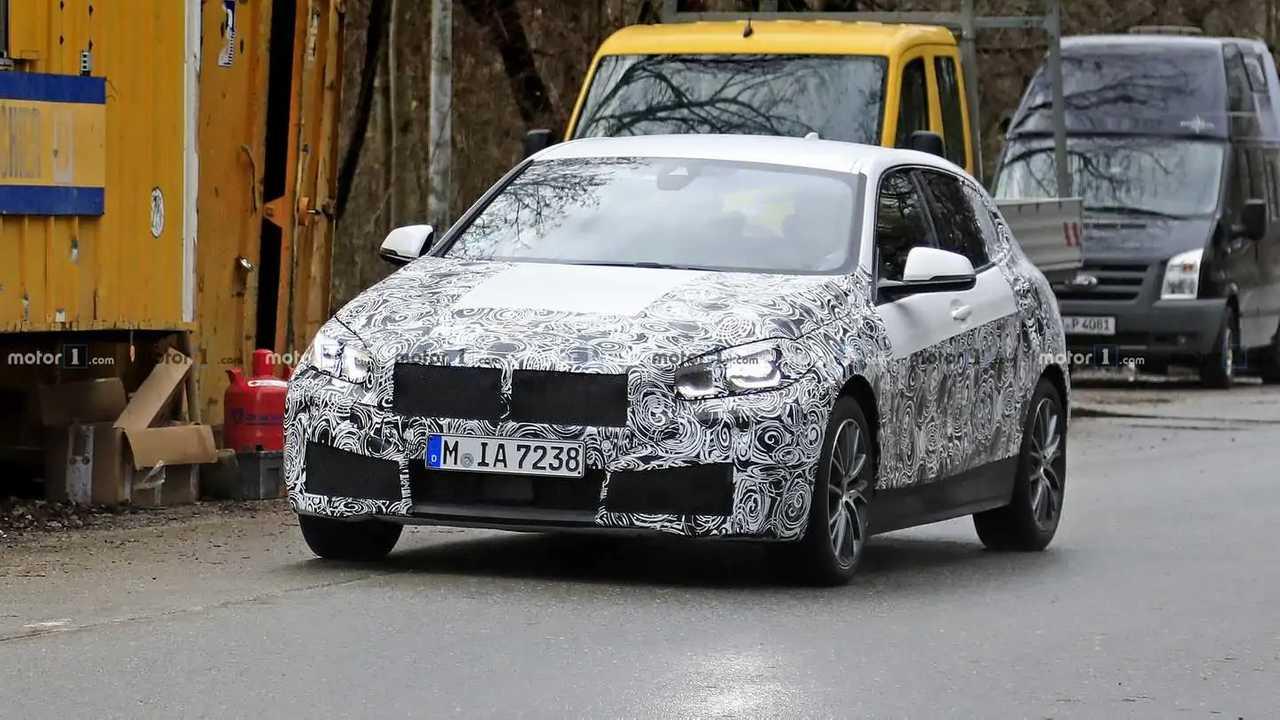 BMW Série 1 2019 - Novos flagras