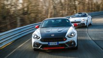 Abarth 595 esseesse y 124 Rally Tribute