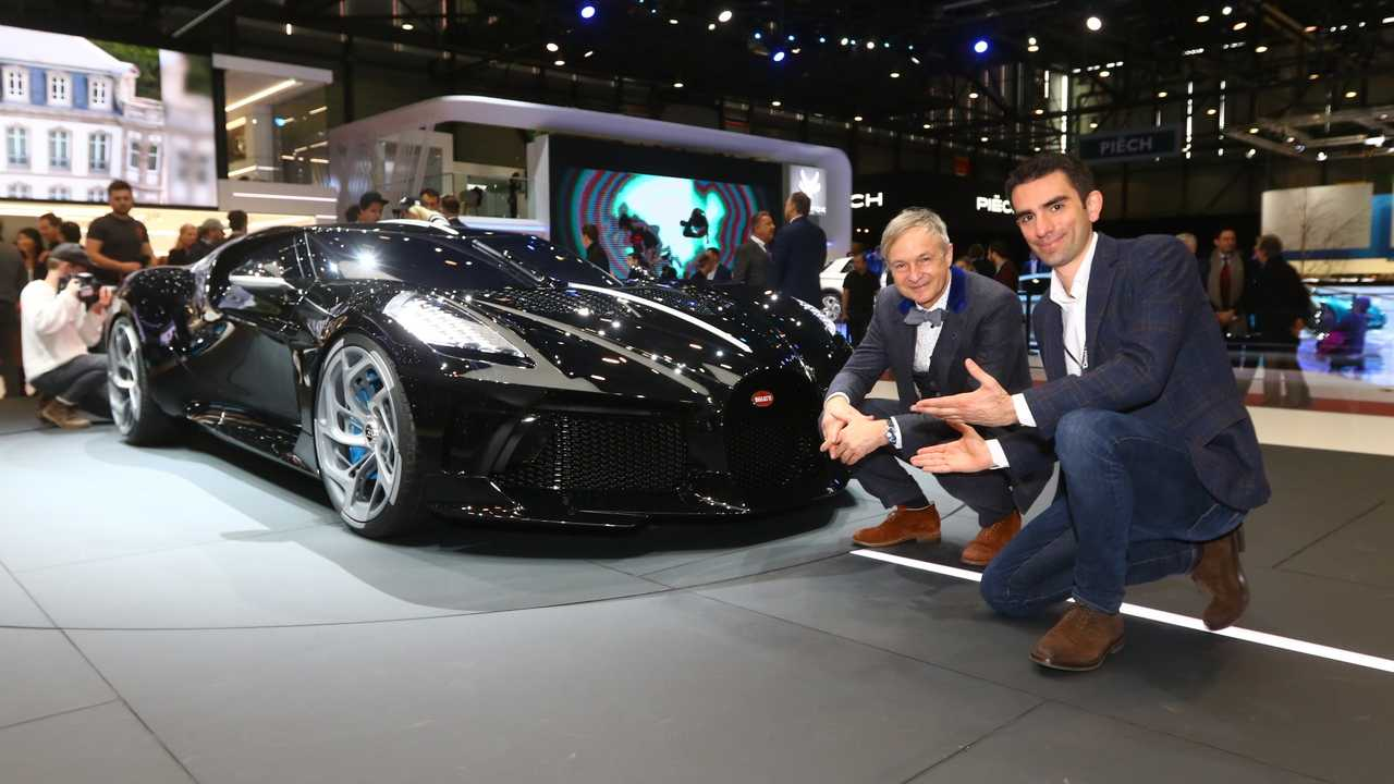 Bugatti La Voiture Noir, intervista al designer