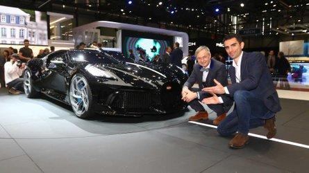 Bugatti designer tells us about creating La Voiture Noire