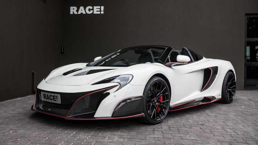 Dél-Afrikából érkezett az eddigi legmenőbb McLaren 650S Spider