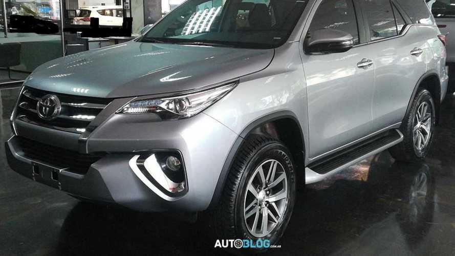 Flagra: Toyota SW4 V6 começa a ser produzido na Argentina