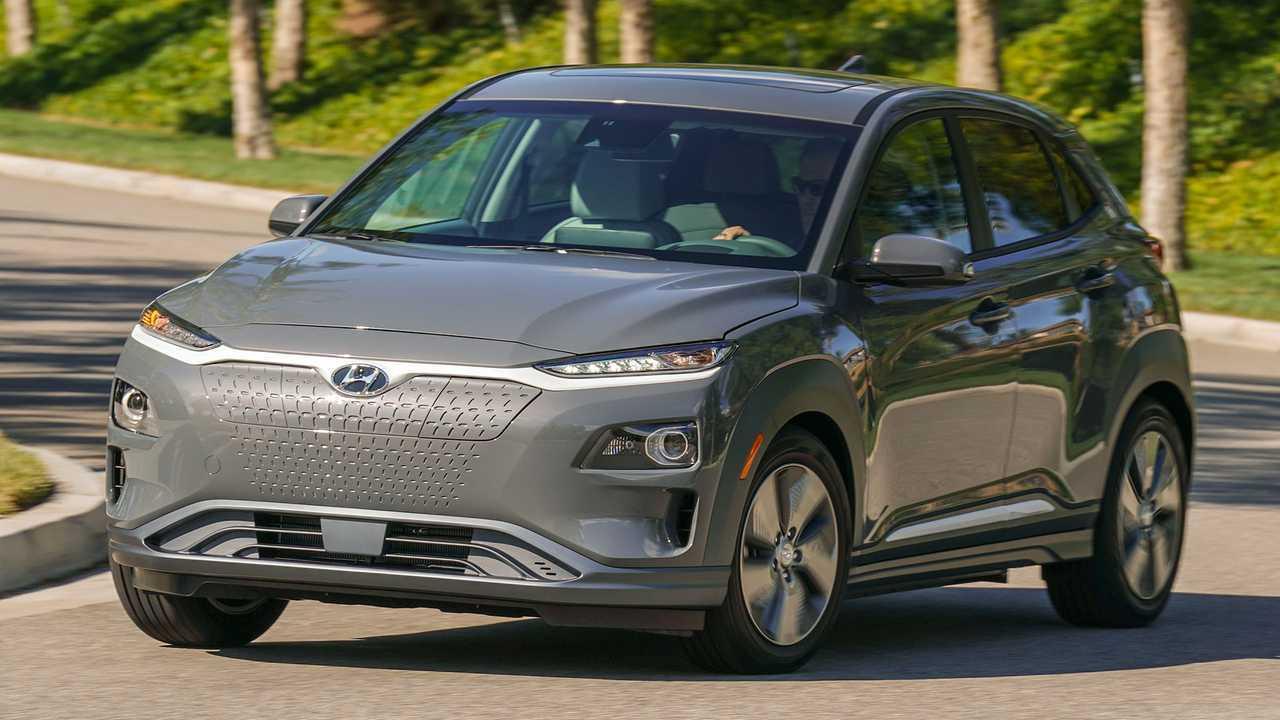 Hyundai Kona EV: 150-kW EV