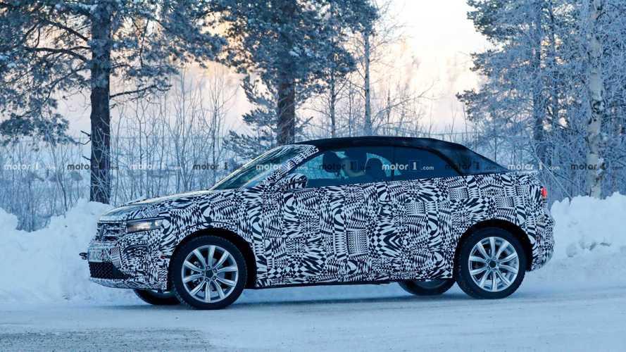 VW T-Roc Cabrio İsveç soğuğunda görüntülendi