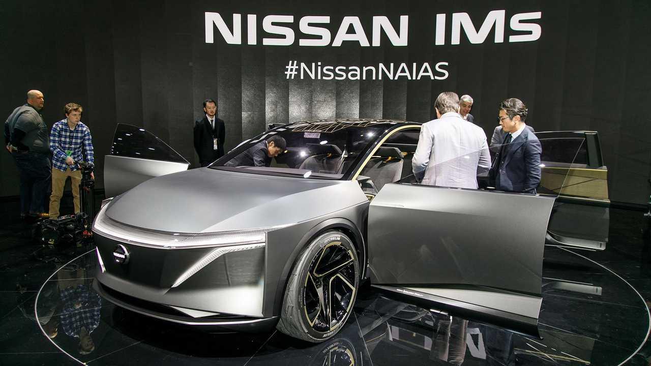 Nissan IMs Concept Live Images