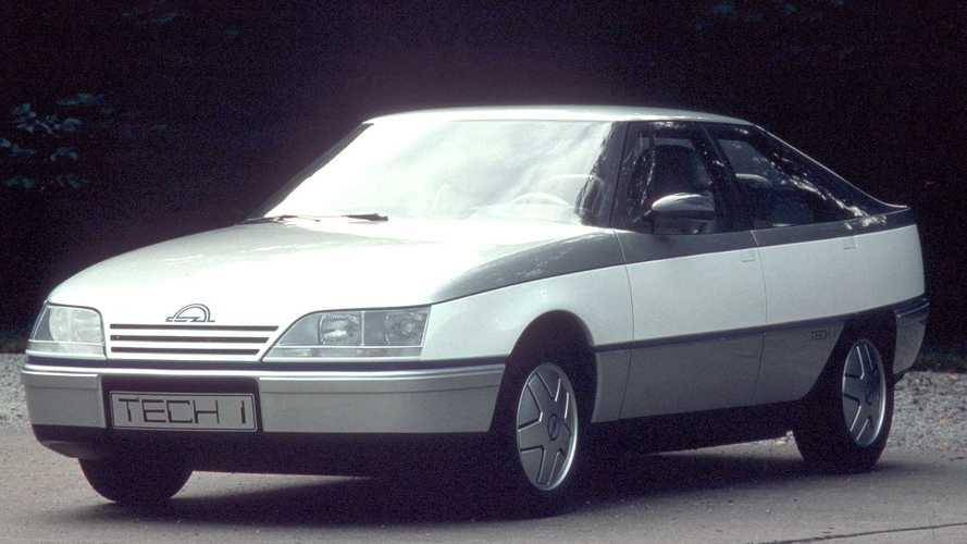 """Opel Tech 1, il """"cuore"""" degli Anni '80"""