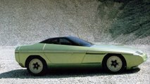 1984 Bertone Ramarro Corvette concept brochure