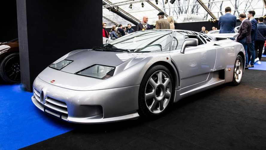 Une descendante de la Bugatti EB110 SS présentée à Pebble Beach ?
