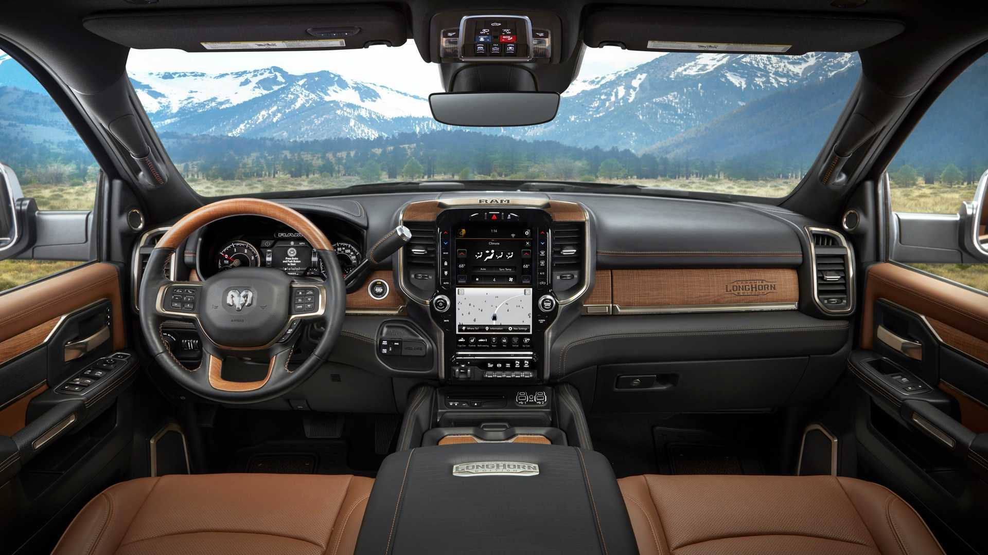 2019 Ram Hd Laramie Longhorn Is A Leather Wrapped Workhorse