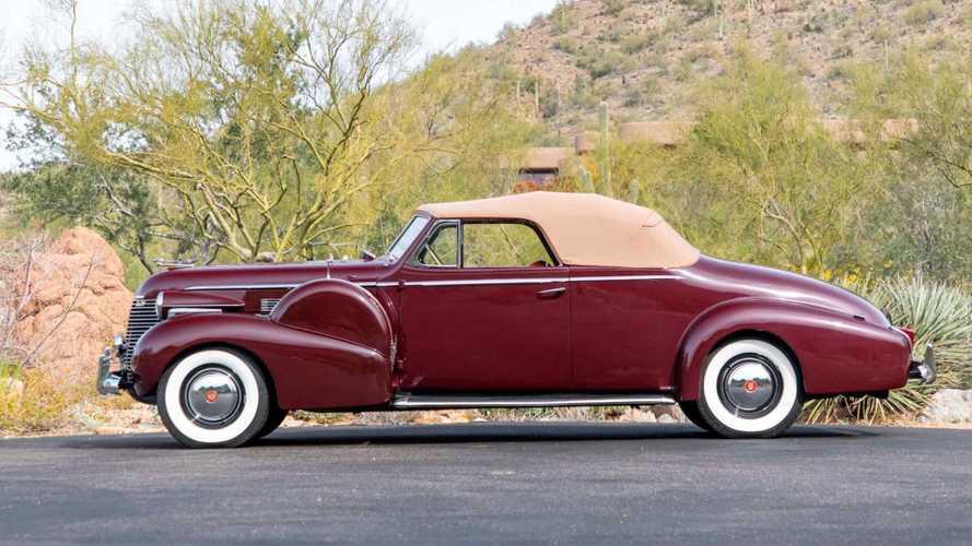 CFS: 1940 Cadillac Series 75 Convertible Coupe