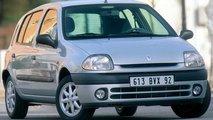 Renault Clio, le foto storiche