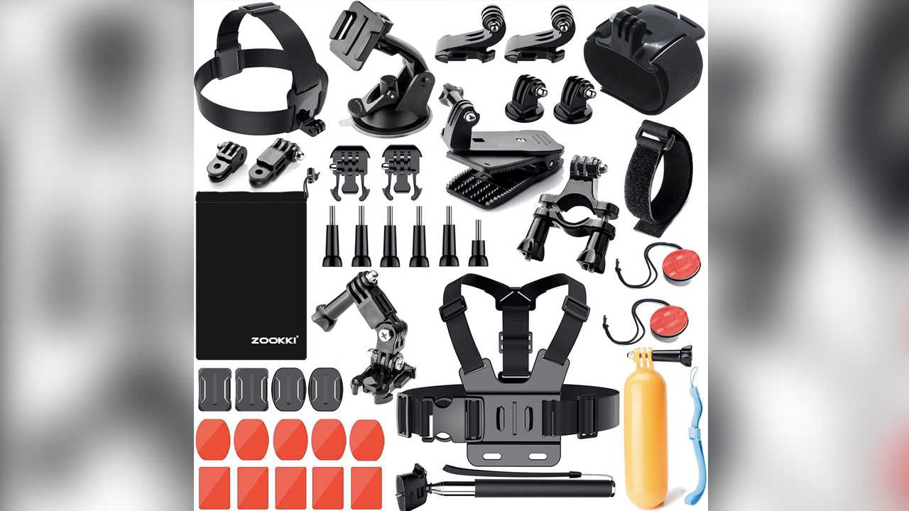 GoPro Accessories Kit - $15.99