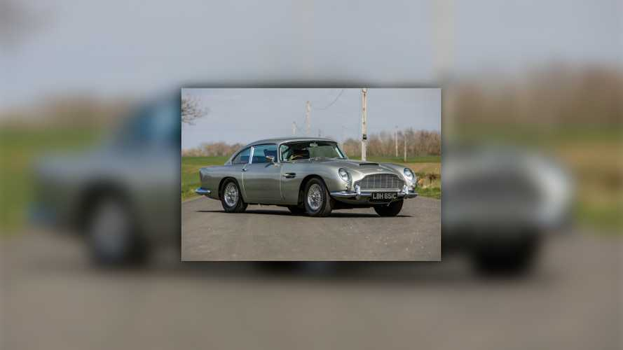 Aston Martin DB5 stamp car
