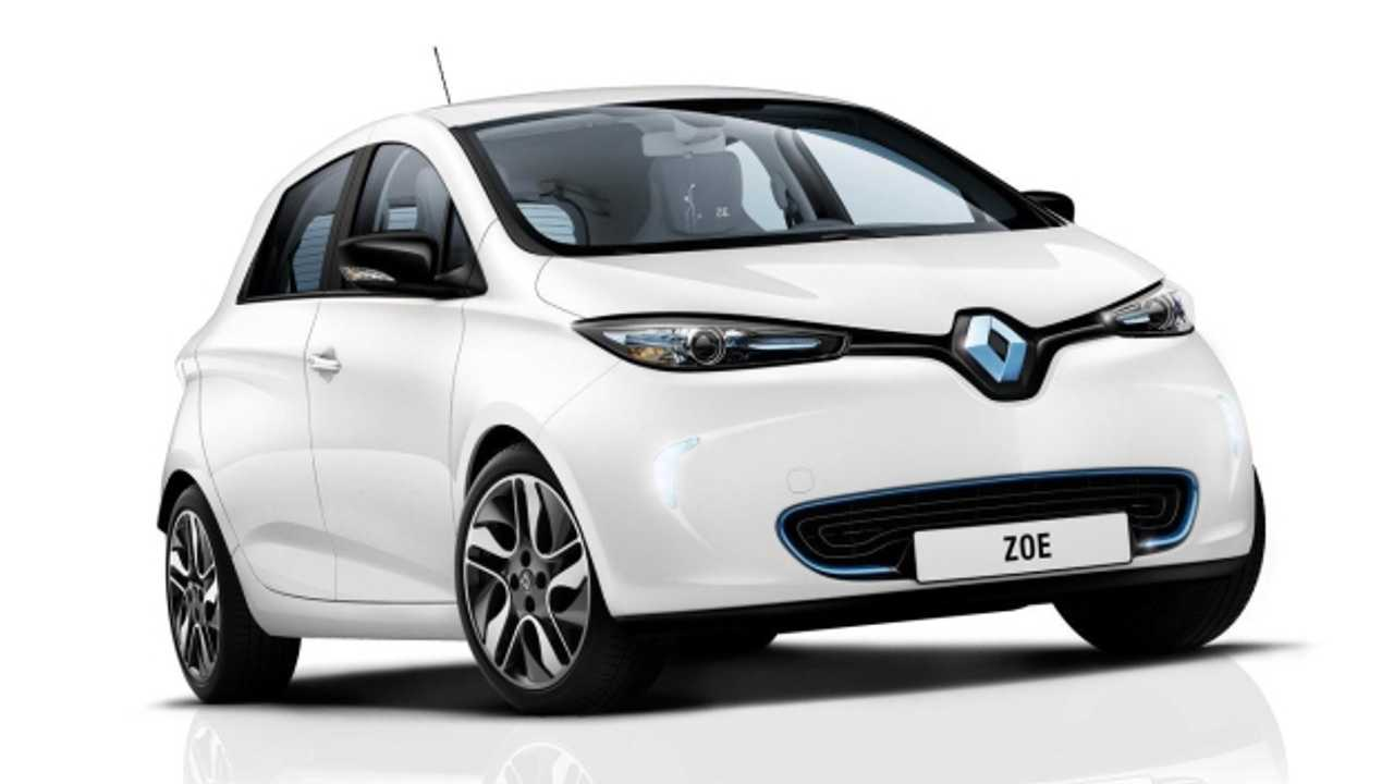 Renault Celebrates Delivery of First Zoe Electric Vehicle