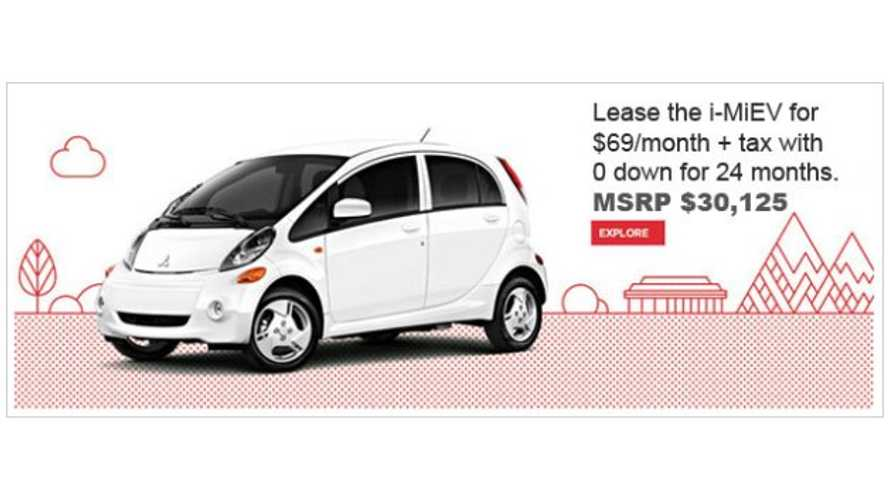Lease Price on Mitsubishi i Drops to Absurdly Low $69 Per Month