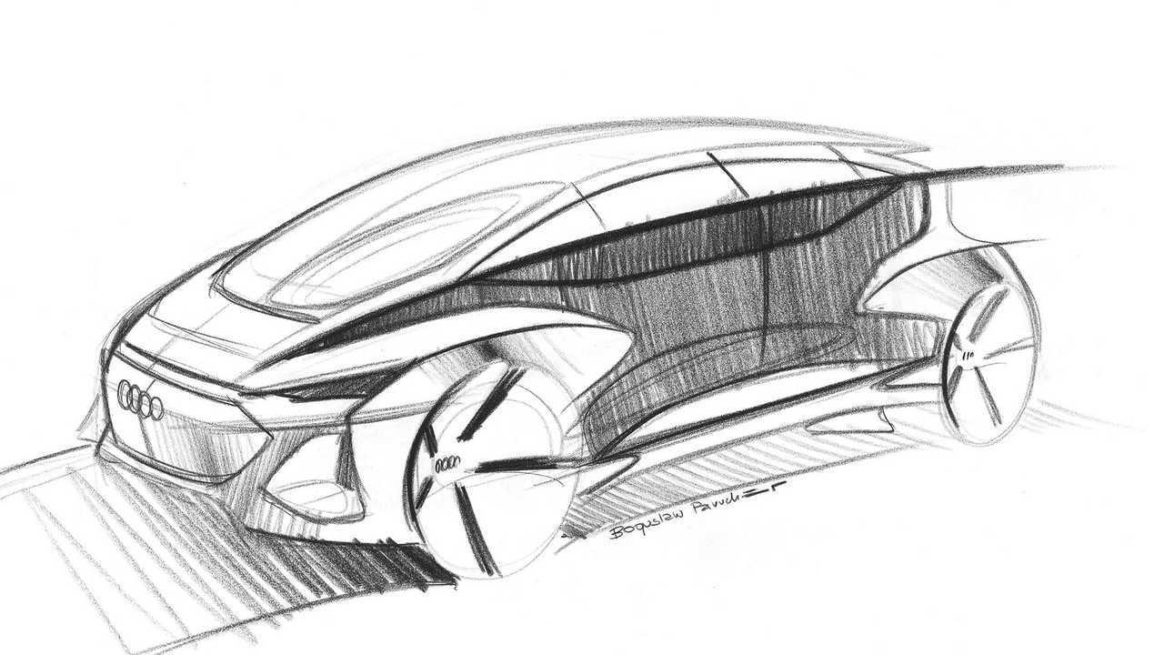 Audi AI: Ich Concept Teaser Image