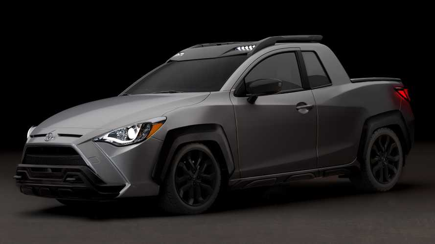 2020 Toyota Yaris Adventure is part truck, part saloon, all fake