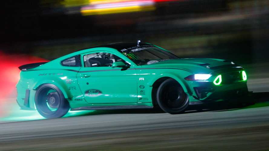 Watch Vaughn Gittin Jr. Drift An Entire Cloverleaf Interchange