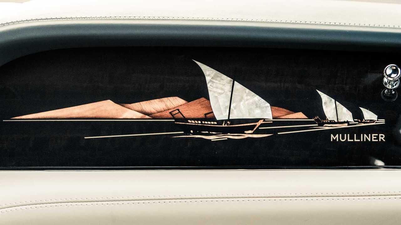 Bentley Bentayga Mulliner Perle du Golfe