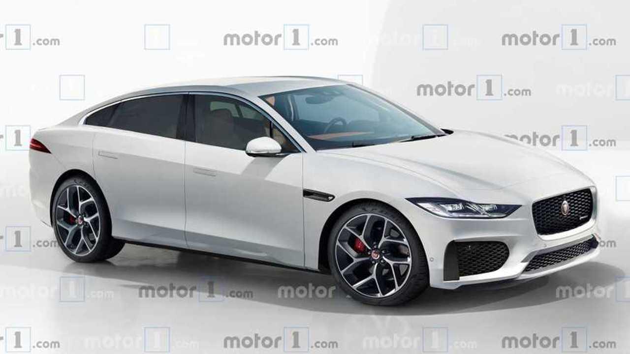 Jaguar XJ 2020 (projeção)