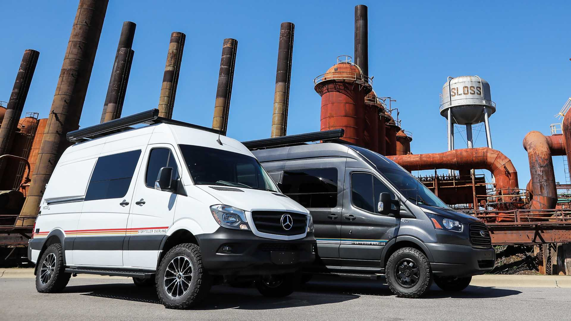 Storyteller Overland Mode 4x4 Camper Vans Are Adventure Ready