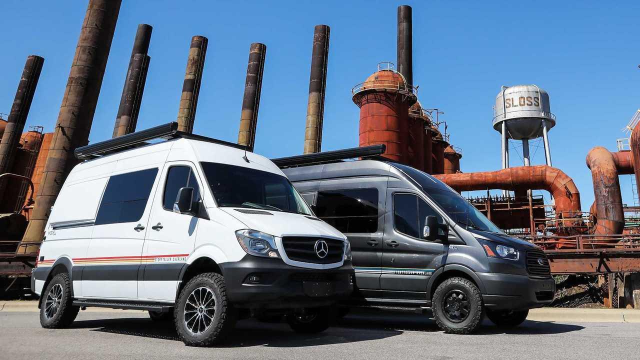 Mercedes Sprinter Van >> Storyteller Overland Mode 4x4 Camper Vans Are Adventure-Ready