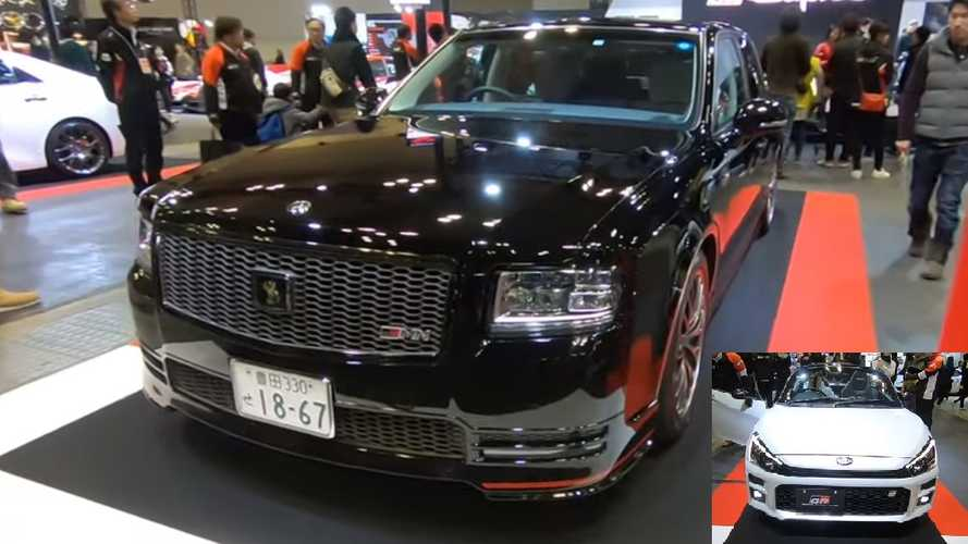 Toyota Century GRMN, Copen GR featured in walkaround video